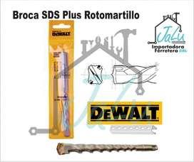 Broca Dewalt SDS Plus Rotomartillo Concreto Piedra taladro pasa Muro