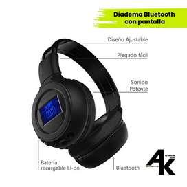 Diadema Bluetooth con Pantalla