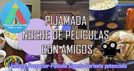 Alquiler para Pijamadas Cumpleaños Pijama Carpas Tipi