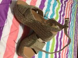 Zapatos en yute