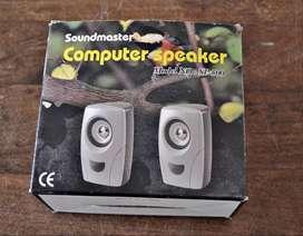 Parlantes p/computadora electronico