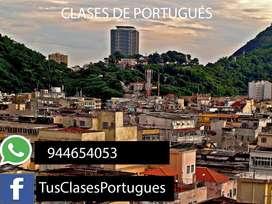 CLASES VIRTUALES DE PORTUGUÉS- TRADUCCIONES Y RESOLUCIONES DE TRABAJO ONLINE - IQUITOS  LORETO