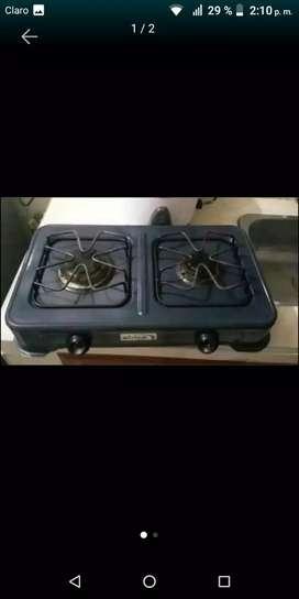 Vendo estufa de dos ornillas