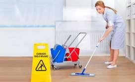 Busco empleo de limpieza de oficina o niñera