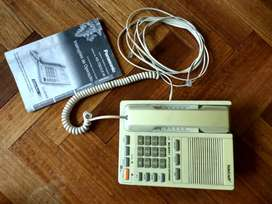 Teléfono Fijo 2 líneas SPEAKER 13 memorias TELCRAFT  Funcionando