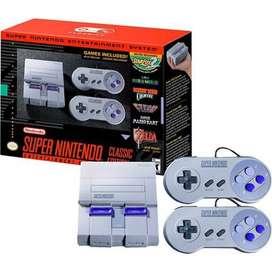 Super Nintendo 2 palancas, 21 juegos, cables HDMI