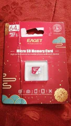 Memoria Micro SD - 64 GB NUEVA
