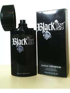Perfume Black Xs Pacco Robanne para hombre