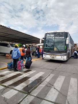 Alquiler de buses y minibús en Arequipa