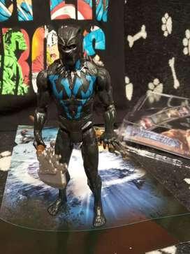 Extraordinaria Colección de figuras de acción marvel Pantera negra