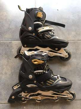 Rollers Gold ABEC7 Inmaculados!