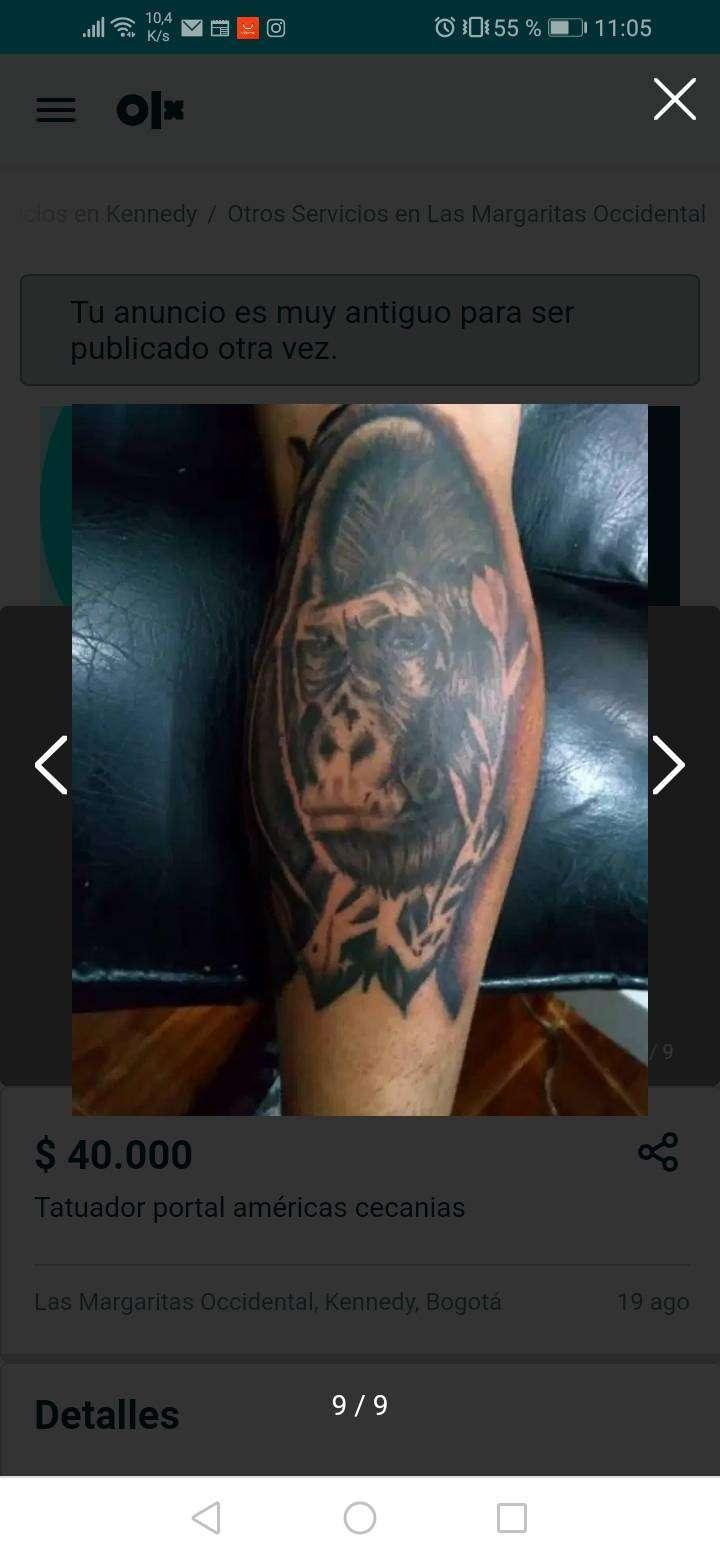 Busco socio con local para negocio de tatuajes
