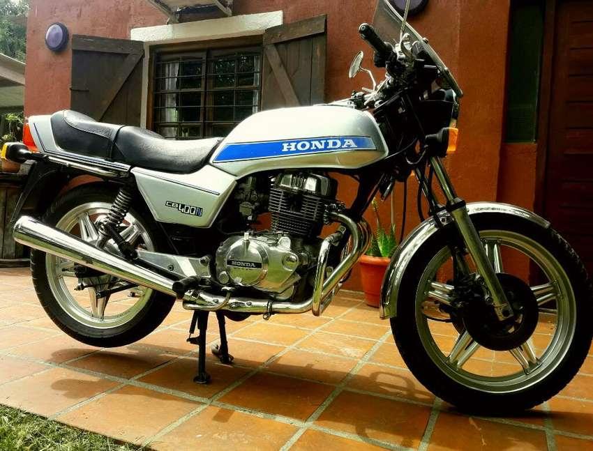 Honda Cb 400 N(impecable Vendo O Permuto 0