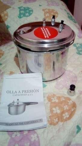 Olla presion 4lts,exprimidor citricos, plancha vapor de mano, etc