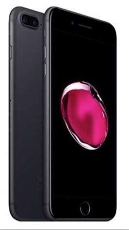 Iphone 7 Plus 32 GB NUEVO en Caja Negro Mate