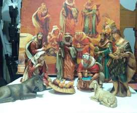 Pesebre Antiguo de Navidad
