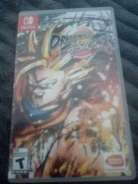 Se vende juego Nintendo Switch Dragon Ball Fighterz