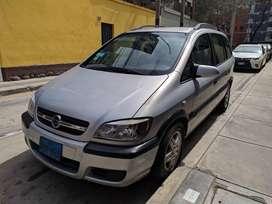 Chevrolet Zafira 2004 3 Filas 5 Puertas. Precio Negociable