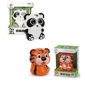 Cubo Rubik Oso Panda 2x2 Tigre 2x2 Animal Yuxin Grande