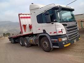 Tracto Scania P410 / carreta