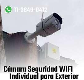 Cámara de Seguridad en tu celular. WiFI para Exteriores.