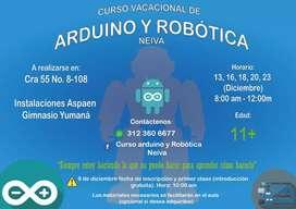 Curso Arduino y Robótica Neiva