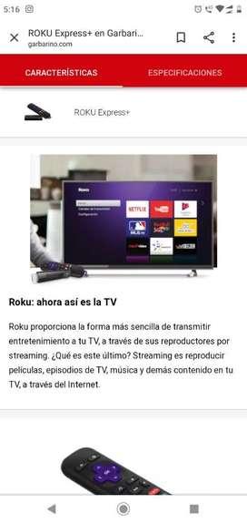 Roku Express para Convertir Tv en Smartv