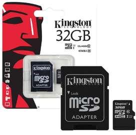 Kingston MicroSD 32GB, Class 10