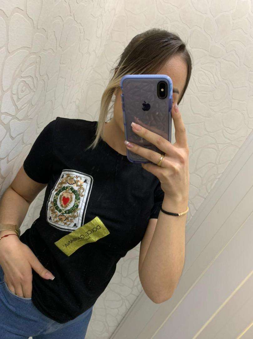 Camisetas femeninas 2805 dolce y gabbana envio gratis