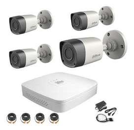 Camaras de seguridad Dahua , kit 4 cam,Dvr hd 1080 ,DD 1TB. INSTALAMOS Y VENDEMOS