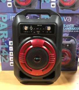 Parlante inova karaoke excelente sonido !!