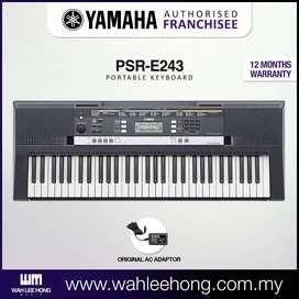 Organeta Yamaha Original PSR E243 +Base sencilla + estuche