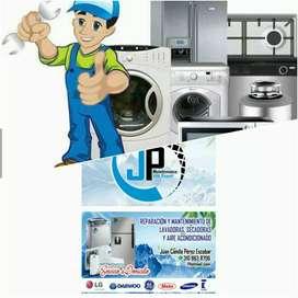 Reparaciones y mantenimientos de neveras y lavadoras técnico a domicilio.
