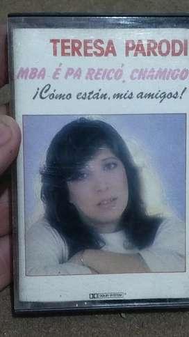 Cassette Teresa Parodi - cómo están, mis amigos? Mba é pa reicó, chamigo