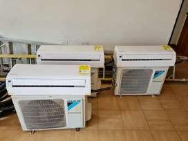 Aires acondicionados inverter DAIKIN 2x900BTU y 1x12000BTU