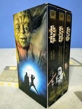 Star Wars trilogy para VHS