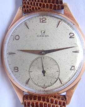 Reloj Omega Cal.265 Oro 18k Macizo 39 Mm De Ancho Swiss