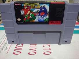 Yoshi's Island Super Nintendo Snes