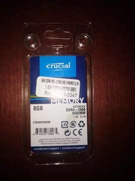 Vendo memoria ram 8 gb