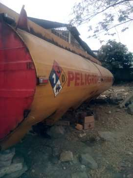 Tanque de 6000 GLS combustible o agua