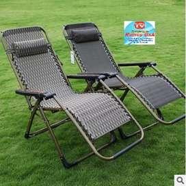 Silla plegable reclinable cama alhomada camping jardín  Oferta limitada
