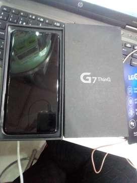 """LG G7 ThinQ 64GB 4GB CS 16MPx 3000mAh 6.1"""" Snapdragon 845. CargaRápida, huella, cargador."""