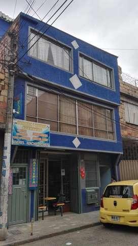 VENDO CASA RENTABLE SAN ANTONIO ENGATIVA 6X12 3 PISOS