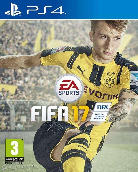 FIFA 2017 para PS4 medio fisico en BLURAY usado 0