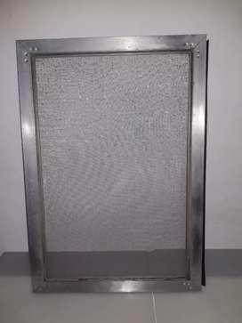 Mosquitero aluminio 37x53 cm