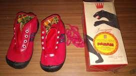 Antiguas zapatillas Panam