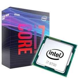 Procesador Intel Core I7 9700 3.0 Cache 12 Mb