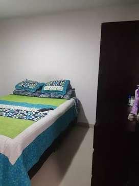 Apartamento barato piso porcelanato nuevo techo dri wall cocina baño enchapados  estudio parqueadero con escrituras