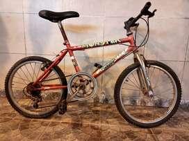 Vendo una bicicleta usada para niño