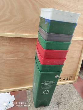 Venta de papeleras- canecas sin tapa